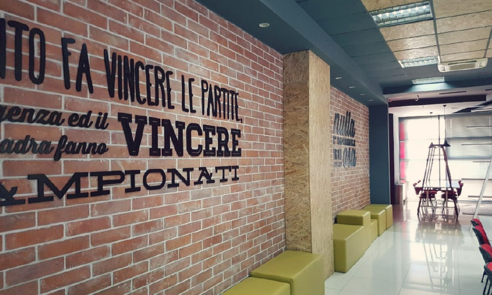 A glimpse of one of our Tirana offices.